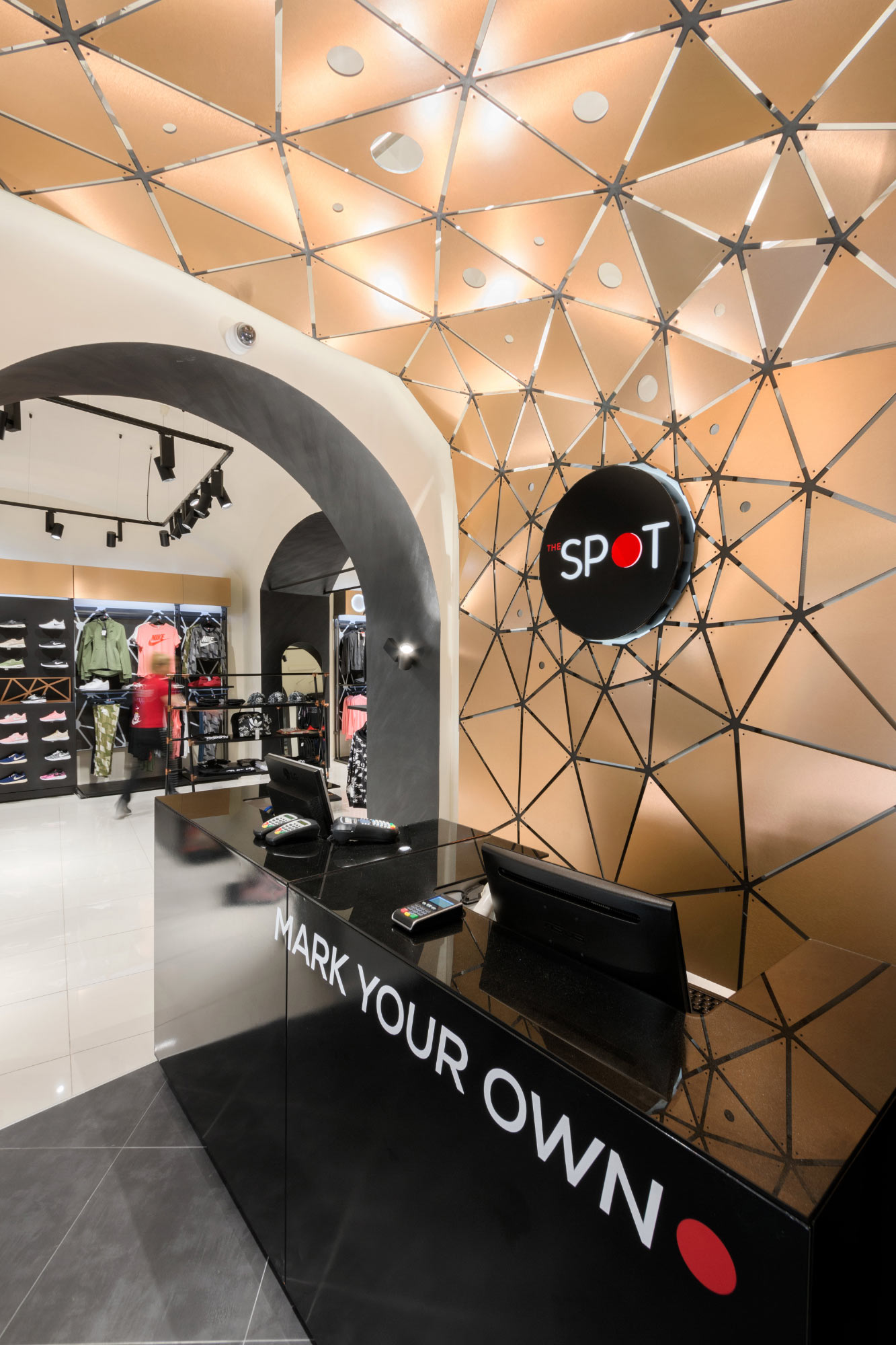 parametric design for Spot retail store